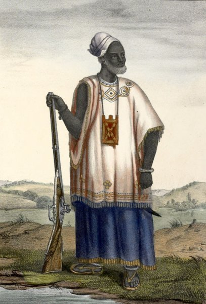Clothing Style, Wolof Man, Senegal, 1850s P. David Boilat, Esquisses Sengelaises (Paris, 1853)
